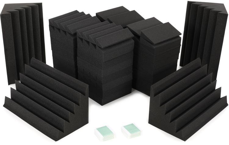 Auralex Alpha-DST Roominators Kit - Charcoal/Charcoal image 1