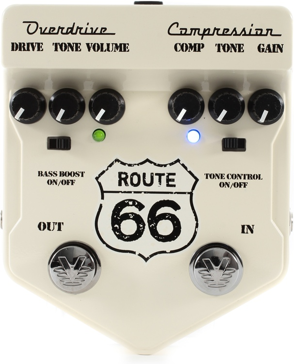 Visual Sound Route 66 Overdrive/Compression Pedal image 1