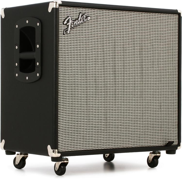fender rumble 115 1x15 300 watt bass cabinet sweetwater. Black Bedroom Furniture Sets. Home Design Ideas