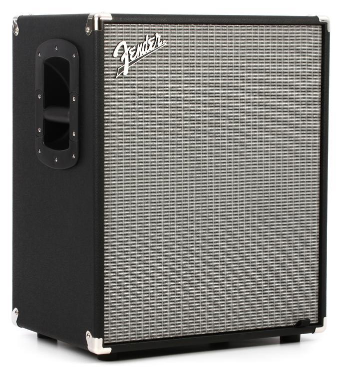 fender rumble 210 2x10 700 watt bass cabinet sweetwater. Black Bedroom Furniture Sets. Home Design Ideas