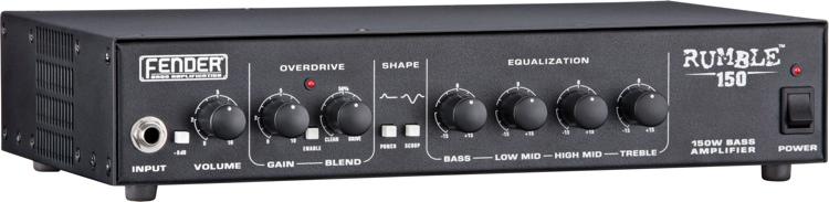 Fender Rumble 150 - 150-Watt Bass Head image 1