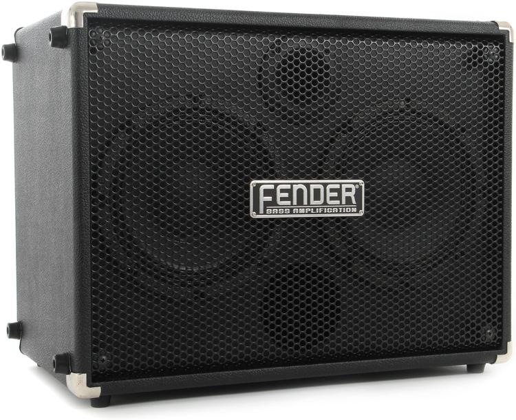 fender rumble bass extension cabinet 2x8 250 watt sweetwater. Black Bedroom Furniture Sets. Home Design Ideas