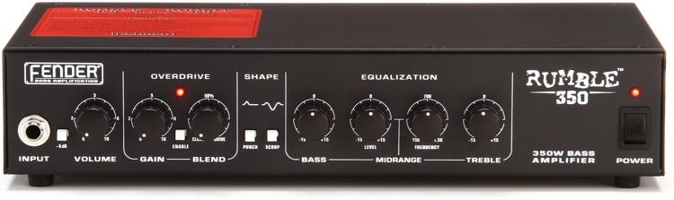 Fender Rumble 350 - 350-Watt Bass Head image 1