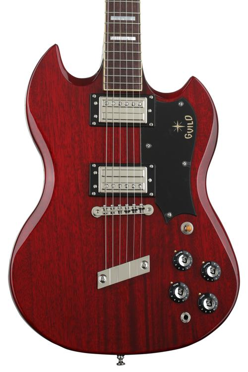 Guild S-100 Polara - Cherry Red image 1