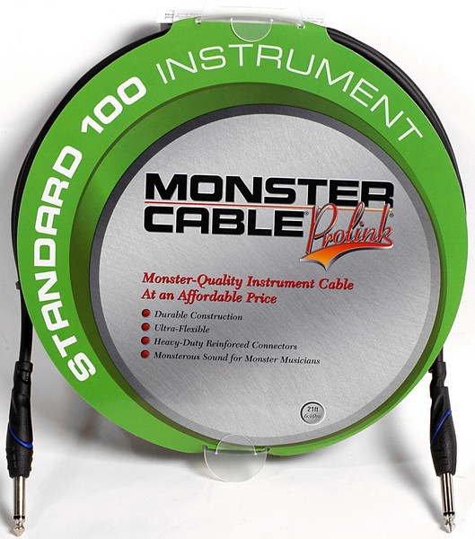 Monster 607224 - 21\' Standard 100 Instrument Cable image 1