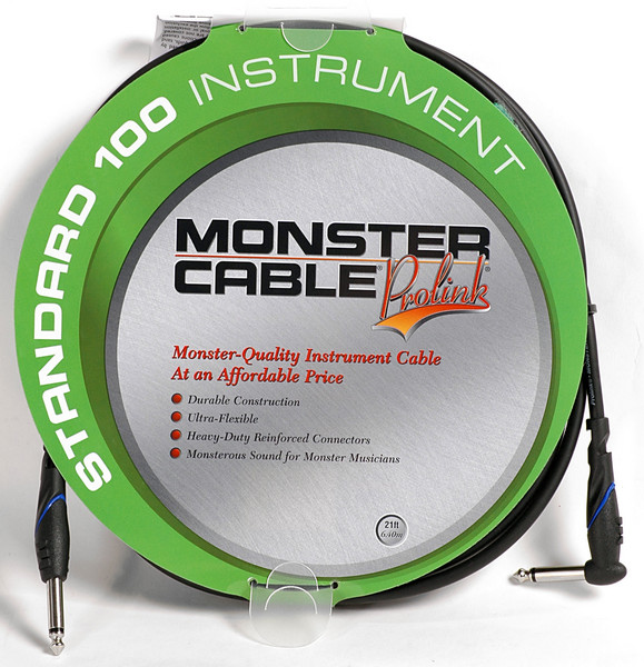 Monster 607226 - 21\' Standard 100 Instrument Cable image 1