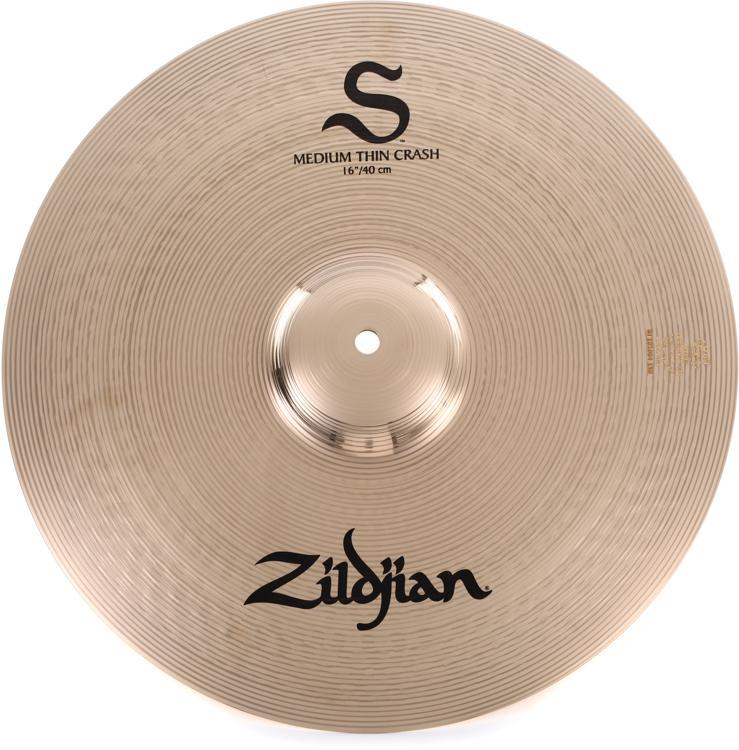 Zildjian S Series Medium Thin Crash Cymbal - 16