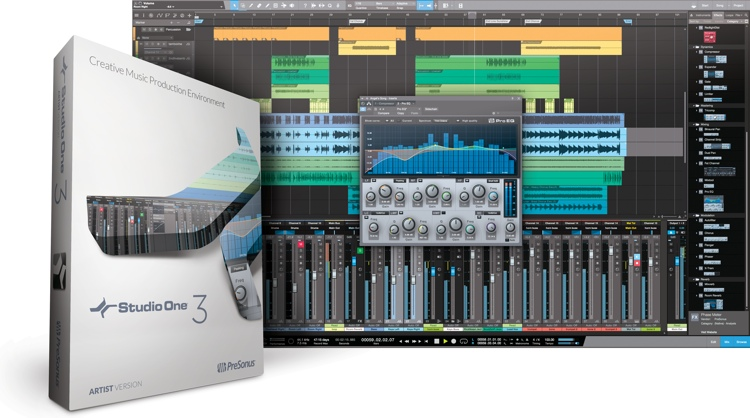 PreSonus Studio One 3 Artist (boxed) image 1