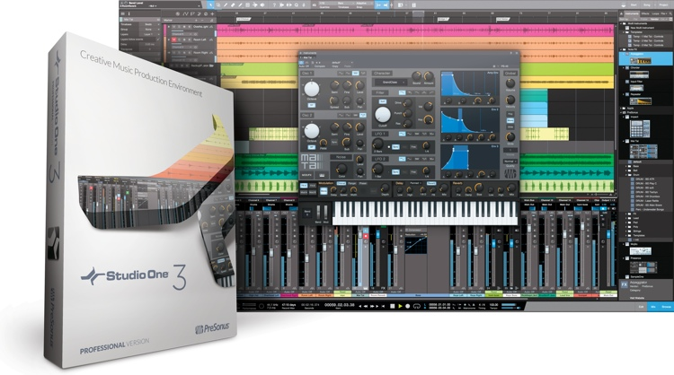 PreSonus Studio One 3 Professional - Upgrade from Studio One Professional Version 1 or 2 image 1