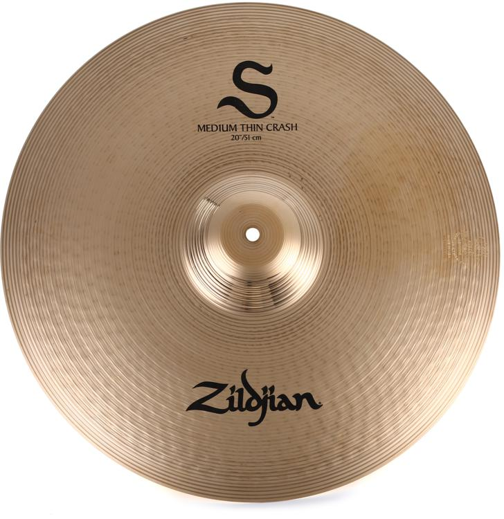 Zildjian S Series Medium Thin Crash Cymbal - 20