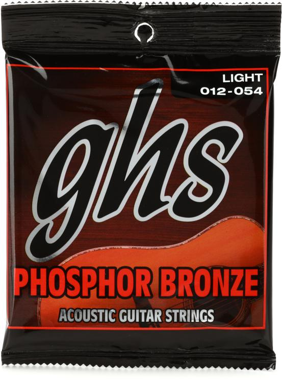 GHS S325 Phosphor Bronze Light Acoustic Guitar Strings image 1