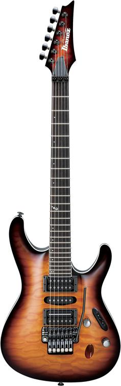 Ibanez Prestige S5470 - Regal Brown Burst Quilt image 1