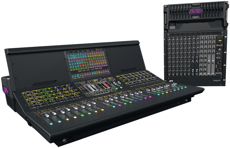 Avid VENUE S6L System with S6L-24 Control Surface and E6L-144 Engine image 1