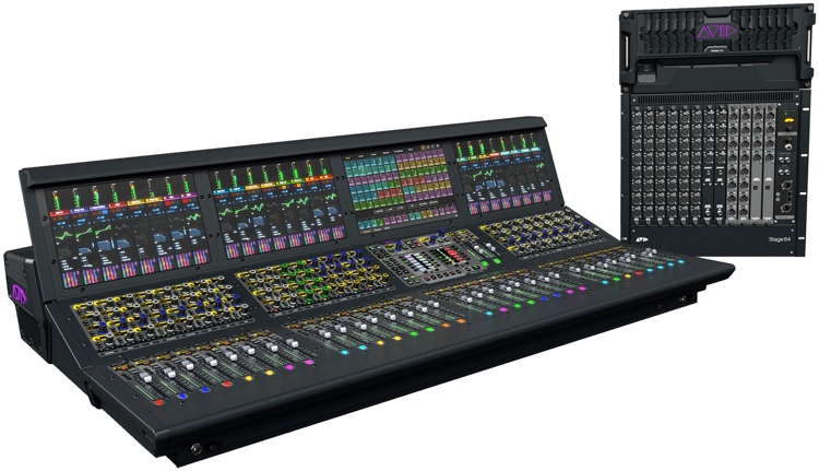 Avid VENUE S6L System with S6L-32D Control Surface and E6L-144 Engine image 1