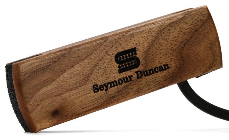 Seymour Duncan SA-3SC Woody SC Acoustic Soundhole Pickup - Walnut Single Coil image 1