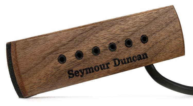 Seymour Duncan SA-3XL Adjustable Woody Acoustic Soundhole Pickup - Walnut Hum-Canceling image 1