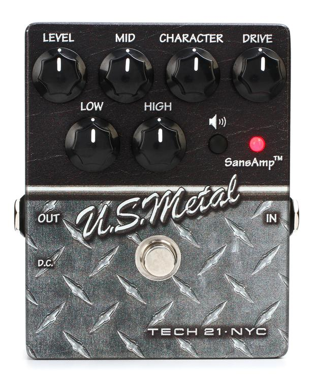 Tech 21 Character Series U.S. Metal Distortion Pedal image 1