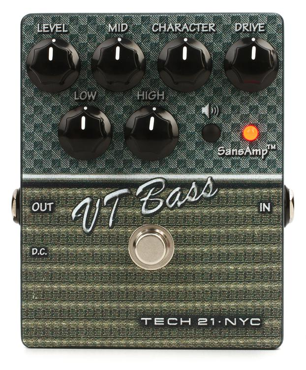 Tech 21 SansAmp Character Series VT Bass V2 image 1