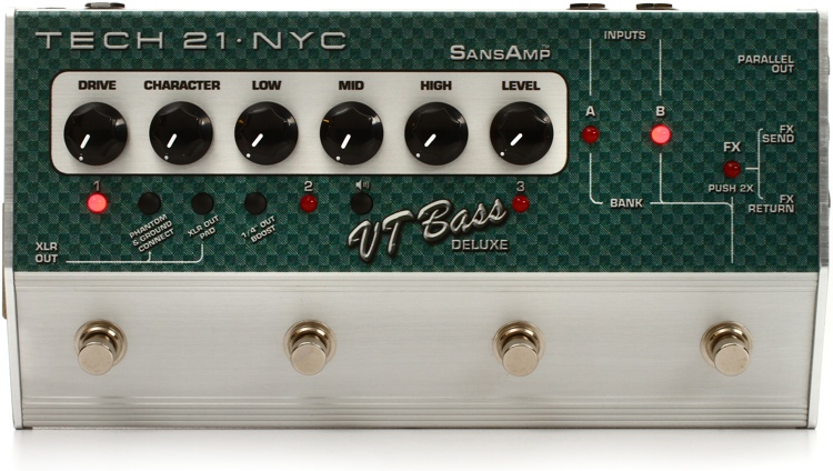 Tech 21 SansAmp Character Series VT Bass Deluxe image 1