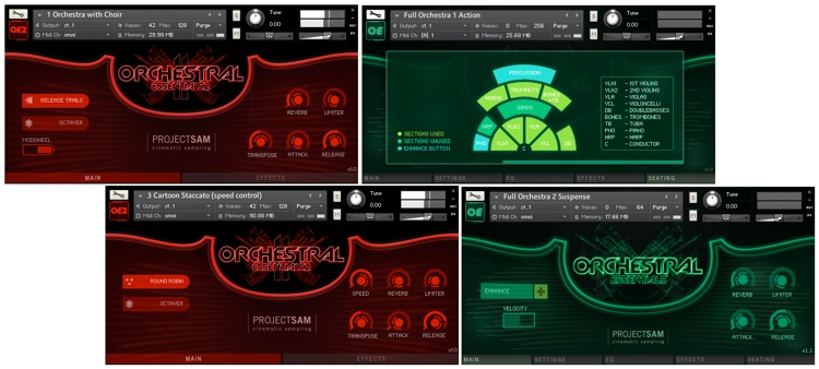 ProjectSAM Orchestral Essentials Pack image 1