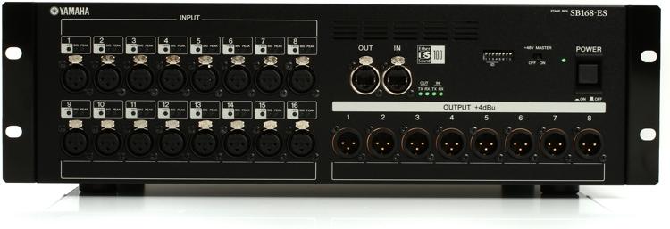 Yamaha SB168-ES EtherSound Stage Box image 1