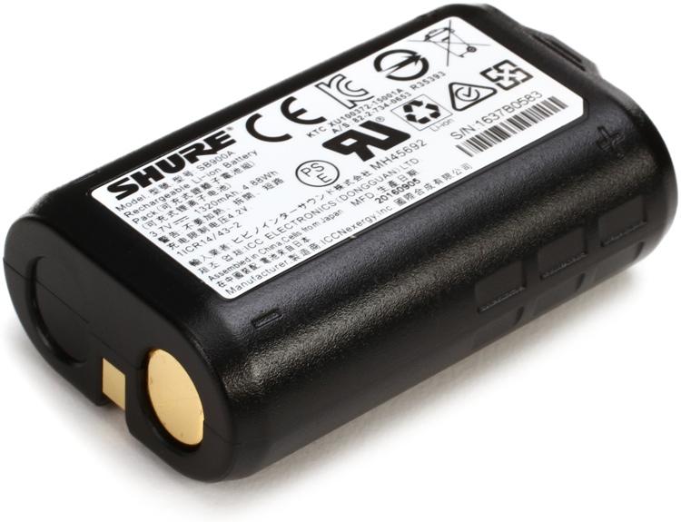 Shure SB900A - Single Battery image 1