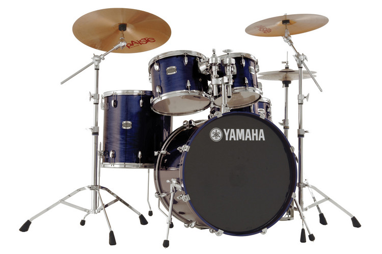 Yamaha Stage Custom 5-piece Drum Kit - Sapphire Blue image 1
