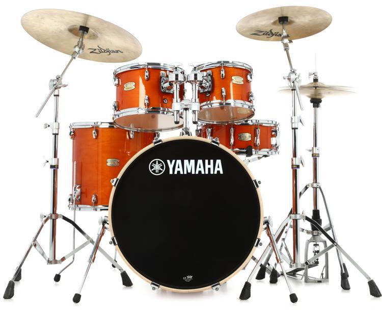 Yamaha Stage Custom Birch Shell Pack - Honey Amber image 1