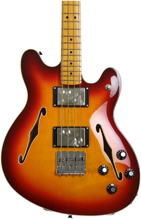 Fender Starcaster Bass - Aged Cherry Burst image 1