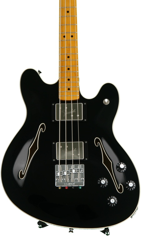Fender Starcaster Bass - Black image 1