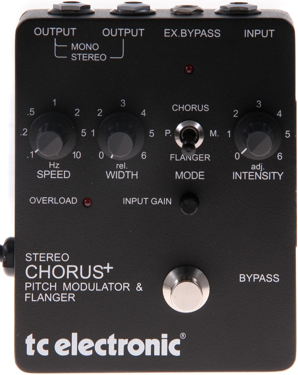 TC Electronic SCF Stereo Chorus+ - Chorus Pitch Modulator and Flanger image 1