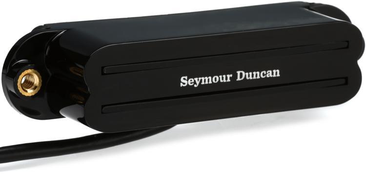 Seymour Duncan SCR-1b Cool Rails Strat Pickup - Black Bridge image 1