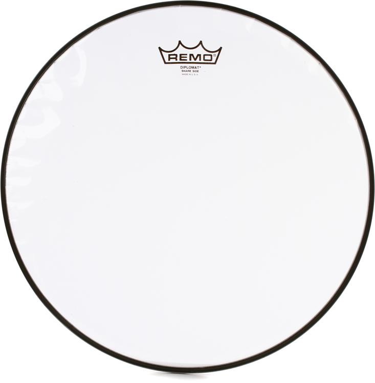 Remo Diplomat Hazy Snare-Side Drumhead - 14