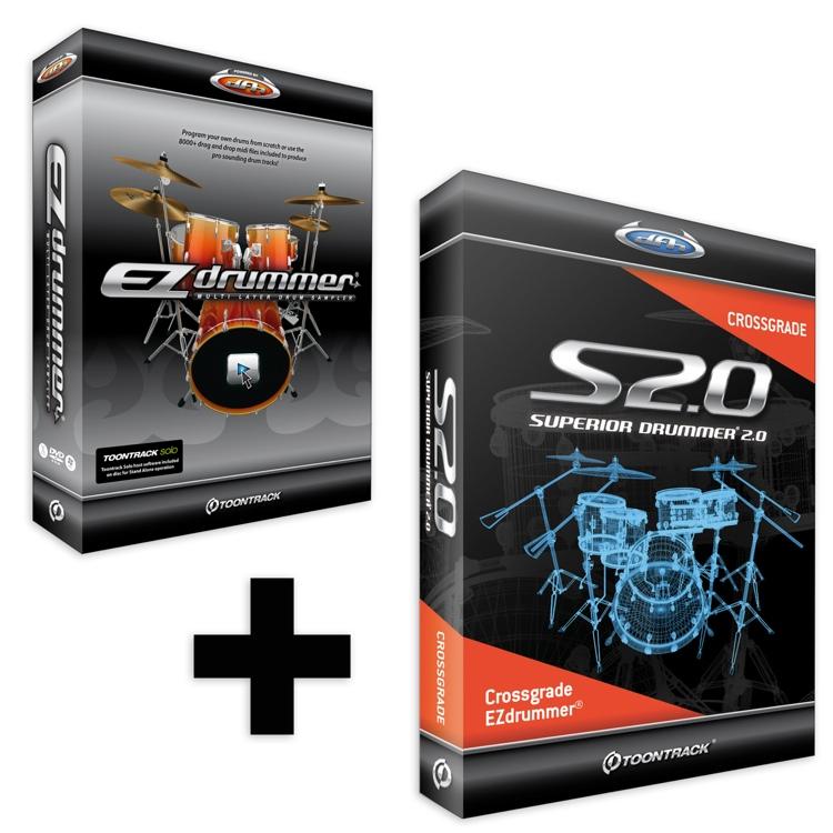 Toontrack EZ Drummer + Upgrade to Superior Drummer 2.0 image 1