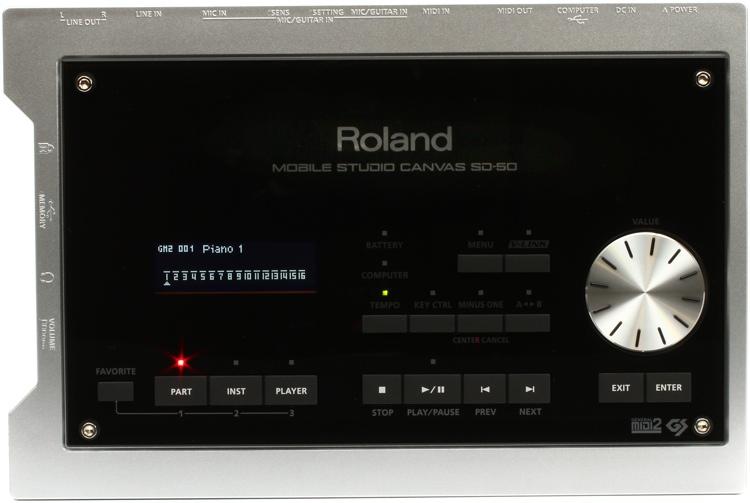 Roland SD-50 Sound Canvas image 1