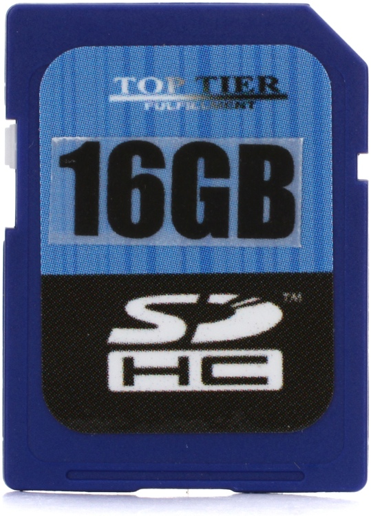 Top Tier SDHC Card - 16 GB, Class 6 image 1