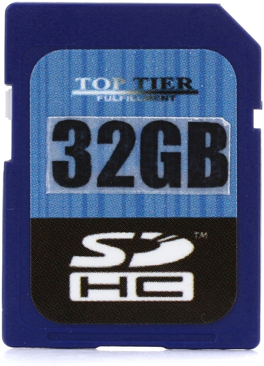 Top Tier SDHC Card - 32 GB, Class 10 image 1