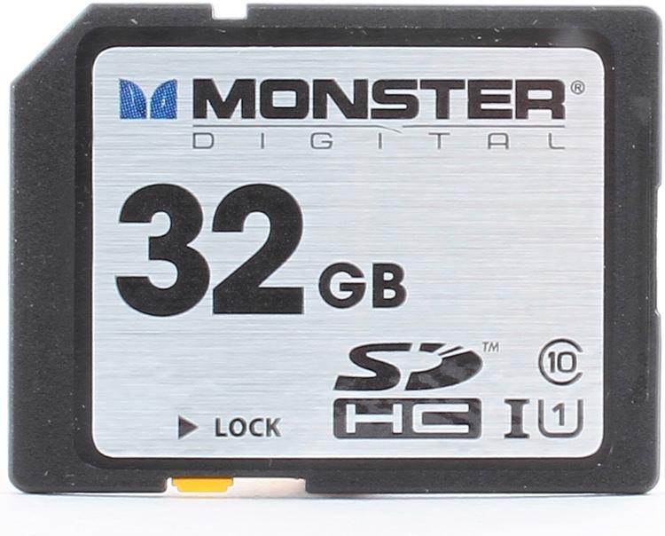 Monster Digital Vault Series SDHC 32GB - 32 GB, Mil-Spec, Class 10 image 1
