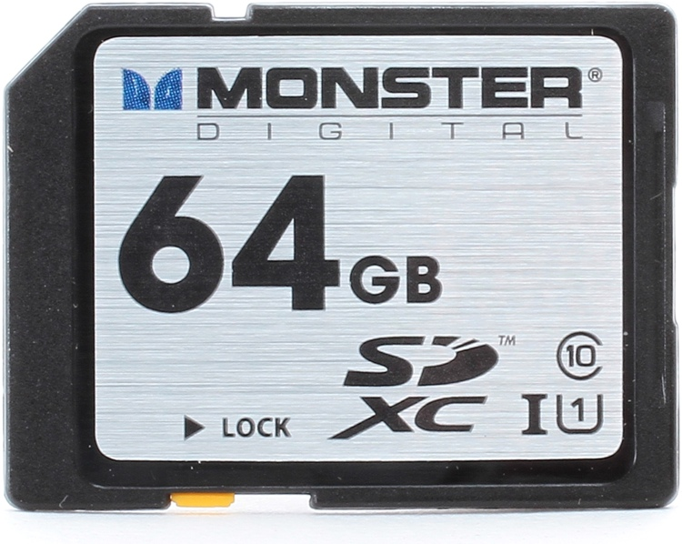 Monster Digital Vault Series SDXC 64GB - 64 GB, Mil-Spec, Class 10 image 1