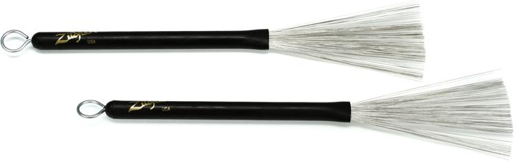 Zildjian Professional Retractable Wire Brushes image 1
