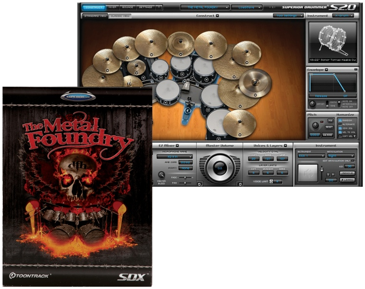 Toontrack The Metal Foundry SDX (boxed) image 1