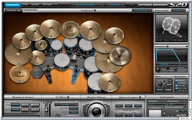 Toontrack The Metal Foundry SDX (download) image 1