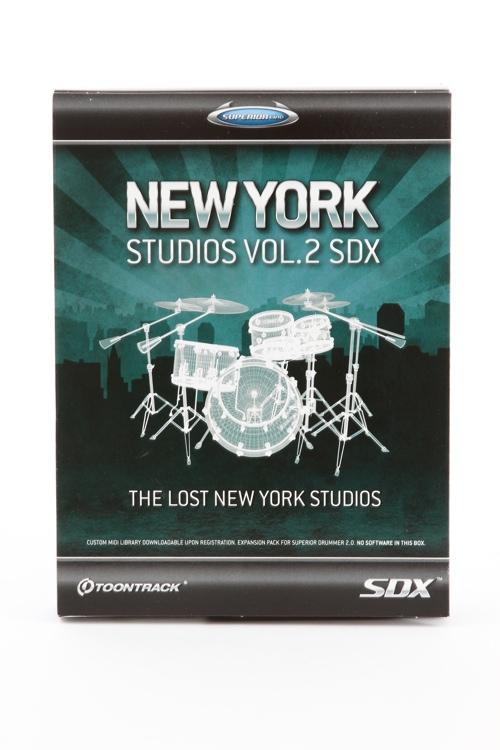 Toontrack New York Studios Vol. 2 SDX (boxed) image 1
