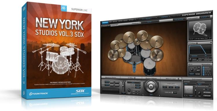 Toontrack New York Studios Vol. 3 SDX (boxed) image 1