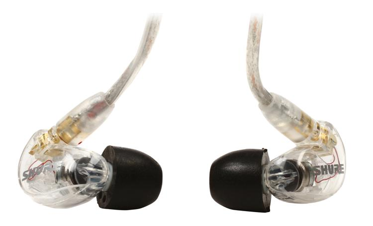Shure SE215 Sound Isolating Earphones - Clear image 1