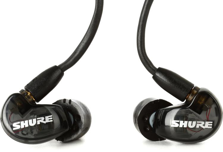 Shure SE215 Sound Isolating Earphones - Black image 1
