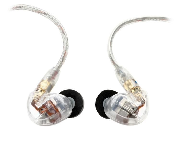 Shure SE535 Sound Isolating Earphones - Clear image 1