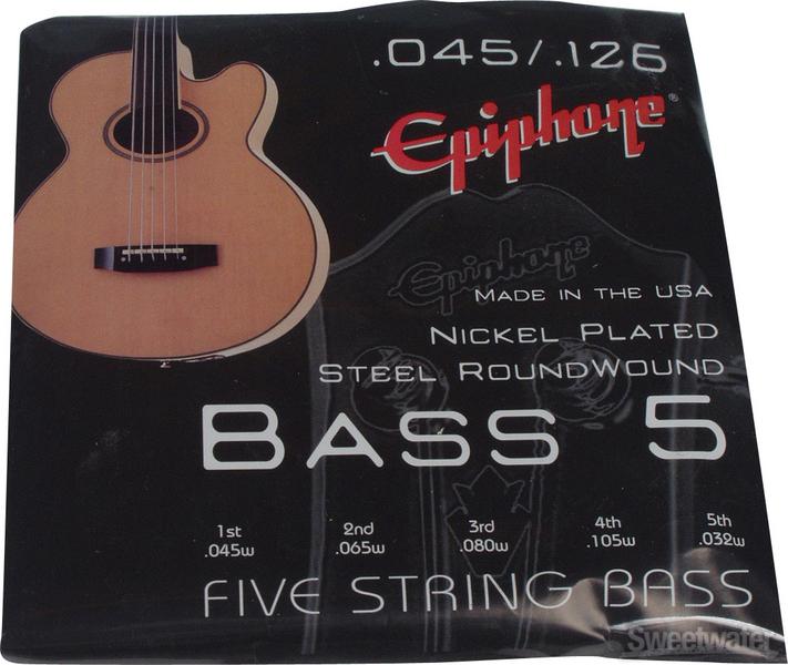 Epiphone NPS Bass Strings - .045-.126 image 1