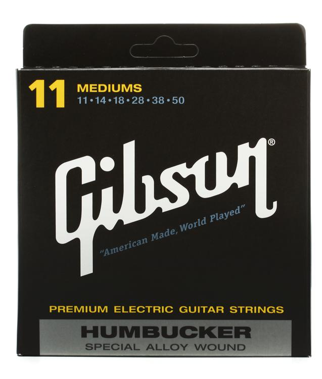 Gibson Accessories SA11 Humbucker Special Electric Strings - .011-.050 - Medium Light image 1
