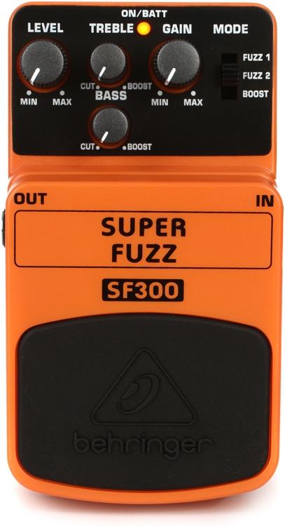 Behringer SF300 Super Fuzz Pedal image 1